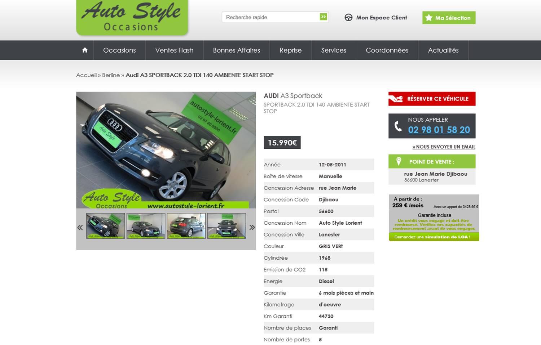 creer site e commerce de votre concession ou garage et vendre sur internet