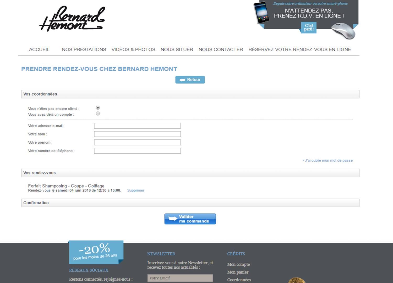Créer un site internet pour votre salon de coiffure