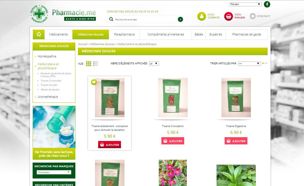 cr er sa pharmacie en ligne avec notre solution e commerce compl te. Black Bedroom Furniture Sets. Home Design Ideas