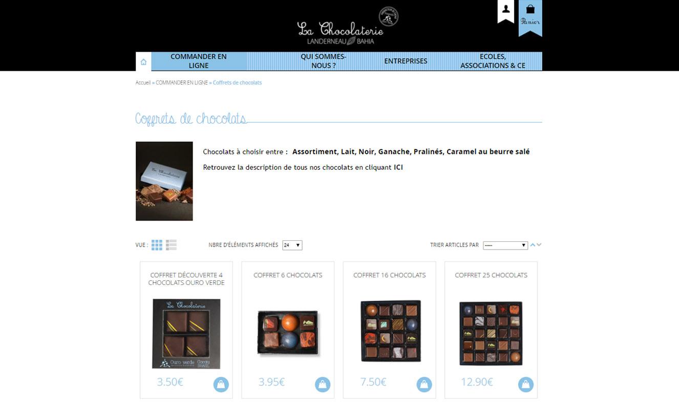899dc57174c Création de site web E-commerce pour traiteur